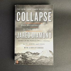 Social Sciences book- Collapse by Jared Diamond